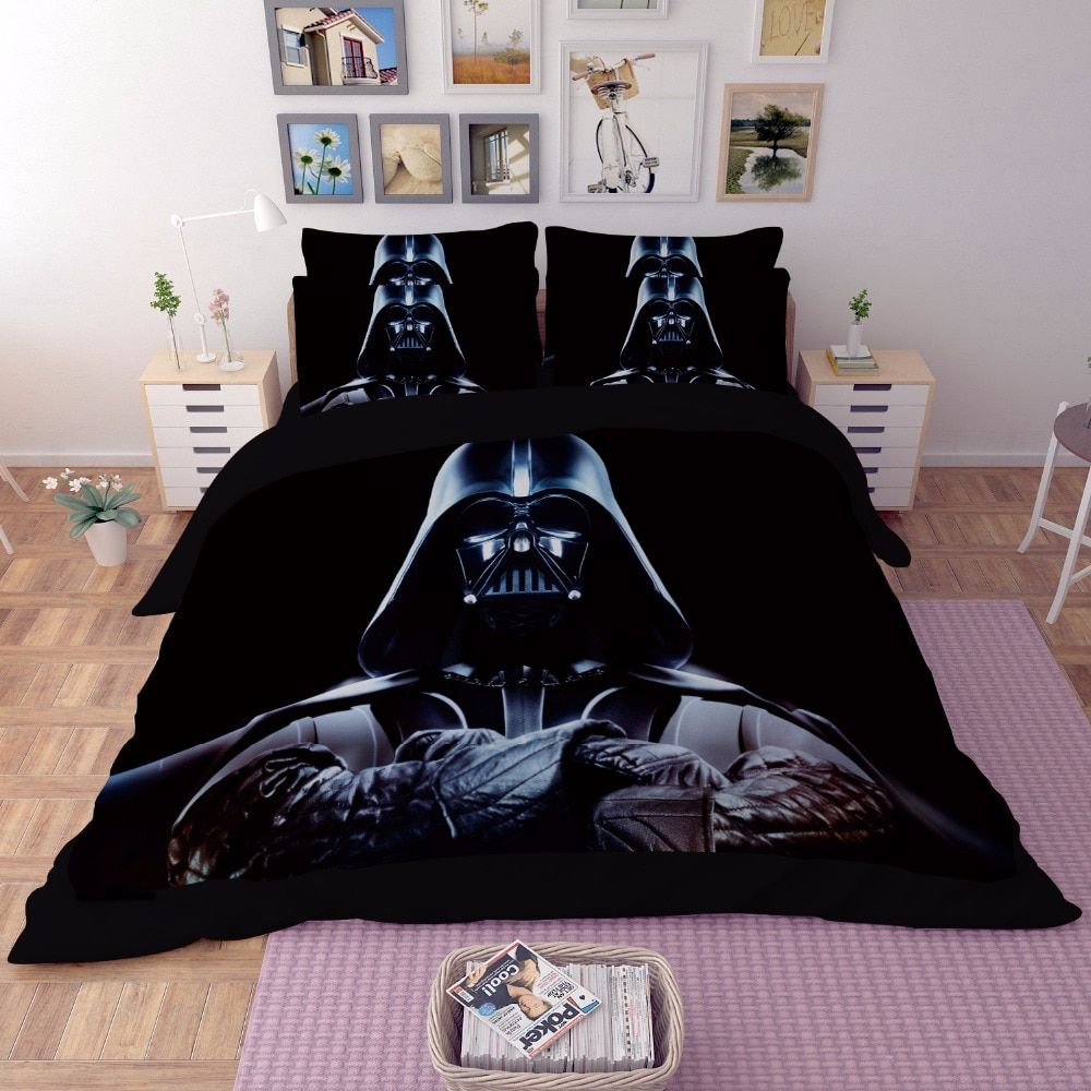 Star Wars 3D Beddengoed Set Print dekbedovertrek Twin volledige koningin koning Mooie patroon Real levensechte bed sets Goede kwaliteit kussensloop
