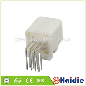 Free shipping 2sets 8pin auto pcb pin houing plug wiring cable electric unsealed plug connector 1376350-2