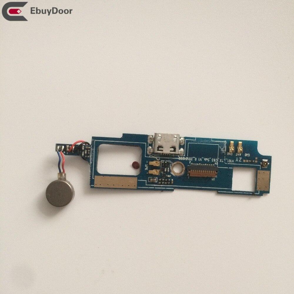 Tablero de carga USB usado + Motor de vibración para móvil Bluboo Picasso, 5,0 pulgadas MTK6735 1280x720, Envío Gratis + número de seguimiento