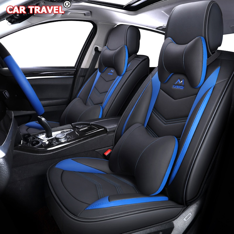 Luxury Leather car seat cover for hyundai solaris tucson accent creta getz coupe grand i10 i20 i30 i