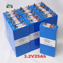 24PCS 3.2v LiFePO4 배터리 12V25AH 배터리 팩에 대 한 26Ah 충전식 리튬 폴리머 셀 전자 자전거 UPS 전원 변환기 HID 태양 빛