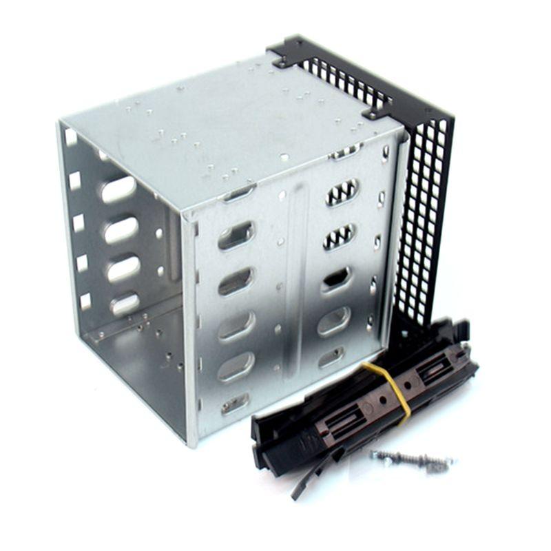 Jaula de disco duro HDD de gran capacidad de acero inoxidable SAS SATA Disco Duro bandeja Caddy para accesorios de ordenador