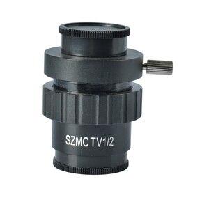 SZM 1/2 CTV Stereo Microscope Camera CCD Mounting Adapter