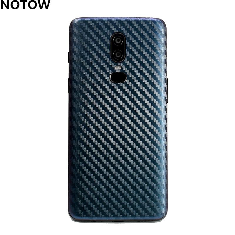 NOTOW fashion Discoloration Carbon fiber sticker skins protective film wrap skin mobile back case fo