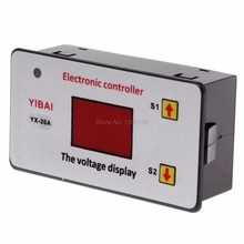 12V batterie basse tension coupé interrupteur automatique sur le contrôleur de sous-tension de Protection