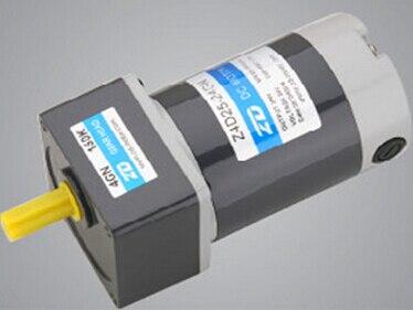 40 vatios 80mm 24V CC motor Micro cepillo de engranaje cepillado relación de engranaje del motor 51 velocidad de salida es 600 rpm 3 uds enviar a EE. UU.