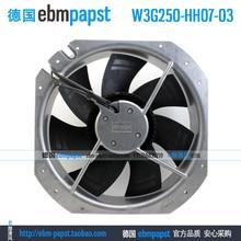 Ebm Papst W3G250-HH07-03 Ac 200V 240V 0.72A 83W 250X250mm Axiale Ventilator