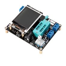 ESR Meter Transistor Tester GM328A LCD Diode Kapazität ESR Spannung Frequenz Meter PWM Platz Welle Signal Generator