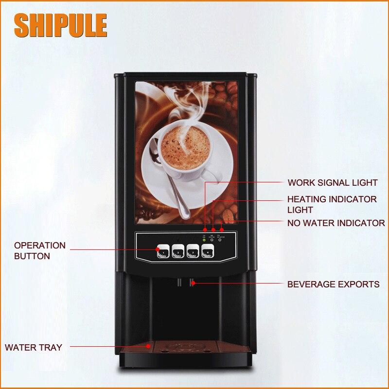2017 plus récent! Machine à café damoureux entièrement automatique 220V 2 tasses Machine à café goutte à goutte Machines à café américaines
