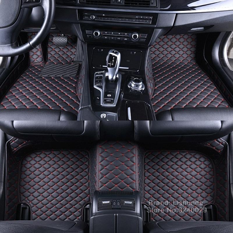 Alfombrillas de coche hechas a medida para Honda Civic 8th 9th 10th generation Accord 6th 8th 9th CRV CR-V HRV HR-V Vezel Pilot rug