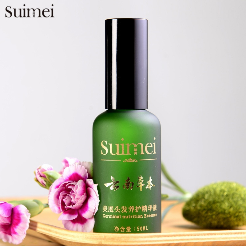 Natural Hair Follicle Sunburst Hair Growth Essence Liquid Anti Hair Loss Products Bald Alopecia Treatment For Men and Women 50ml