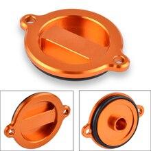 Oil Filter Cover Cap For KTM 125 200 390 690 990 1090 1190 1290 RC Duke Enduro SMC Supermoto Super Adv R Adventure RC8 RC8R