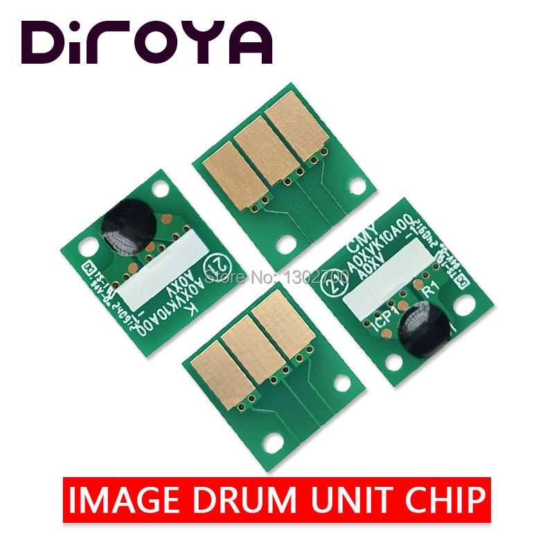 40 قطعة DR-311 DR 311 DR311 K/C/Y/M التصوير وحدة رقاقة ل كونيكا مينولتا Bizhub C220 C280 C360 C 220 280 360 7228 طبل إعادة رقائق
