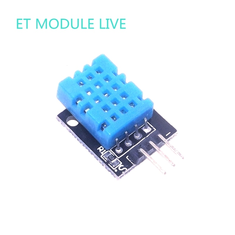Inteligente 3pin KEYES KY-015 DHT-11 DHT11 temperatura Digital y Módulo sensor de humedad relativa + PCB para Arduino DIY Starter Kit