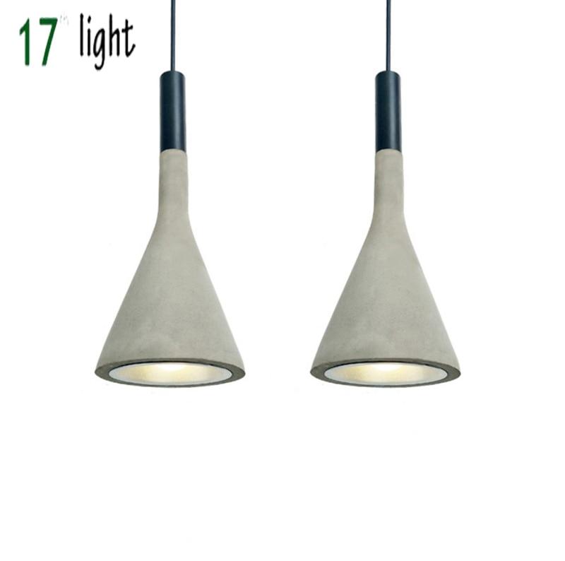 Подвесная лампа Aplomb, Подвесная лампа из цементного материала для студии Paolo Lucidi Luca Pevere