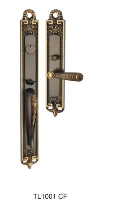 باب نحاسي-باب من الفولاذ المقاوم للصدأ-قفل باب من سبائك الزنك-سلسلة الأجهزة التوكيلية-مشاريع المتاجر التسويقية المفضلة