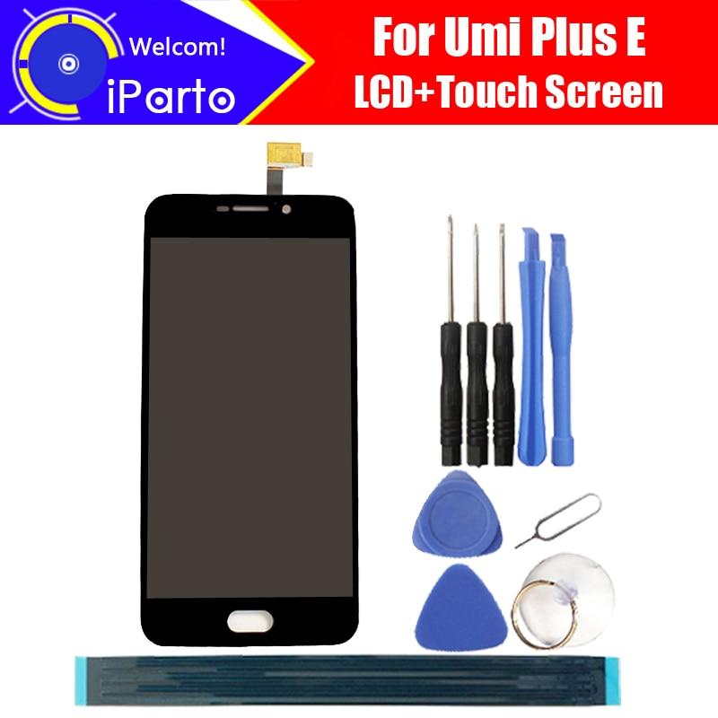 Pantalla LCD Umi plus E de 5,5 pulgadas + pantalla táctil 100% reemplazo del Panel de vidrio Original probado digitalizador para plus E 1920x1080 + herramientas