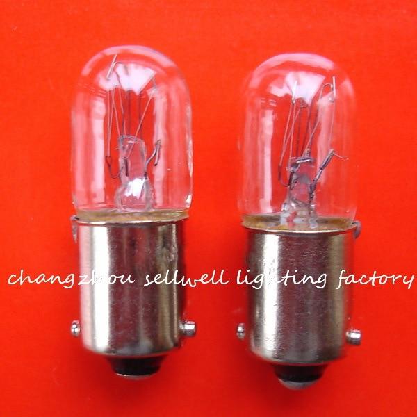 Miniatura bombillas 230V 2w BA9S T10X28 CC-7A A876 nuevo 10 Uds