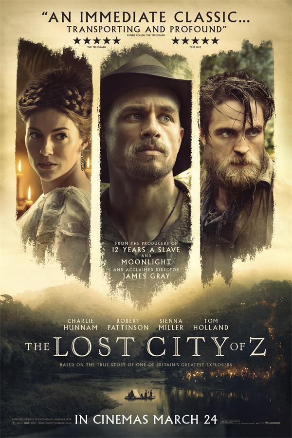 0239B The Lost City of Z POP película-pegatina de pared de seda póster lienzo ligero Decoración