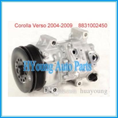 AUTO compresor de CA para Toyota Corolla/matriz de Scion XB Lexus LS compresor de CA 2008-2011, 8831002520 883101A660 8831002510