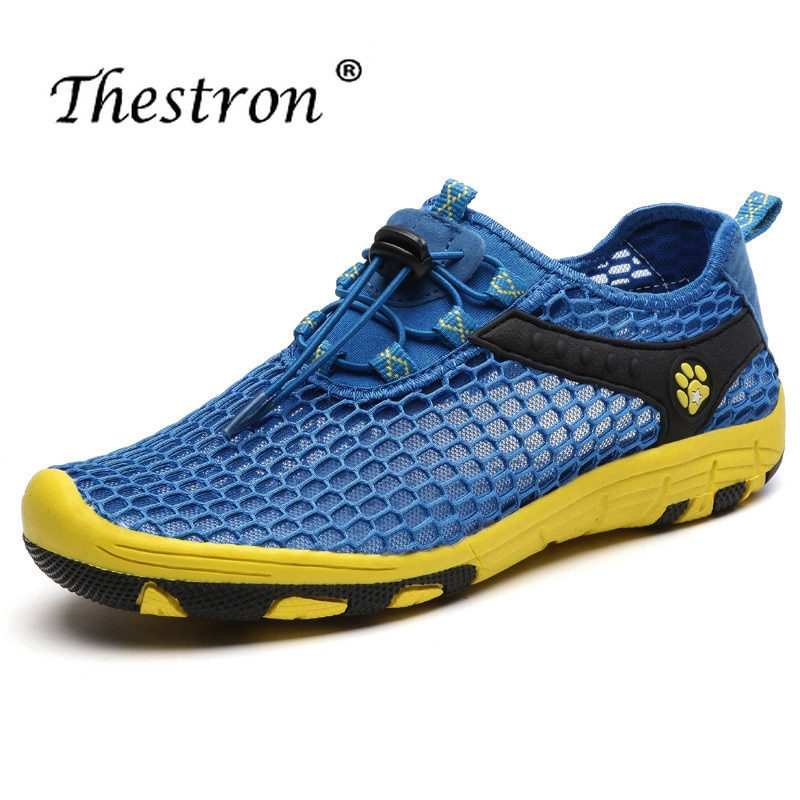 Thestron Man Woman Water Shoes Comfortable Breathable Outdoor  Spring Summer Aqua Sport Sneakers Couple