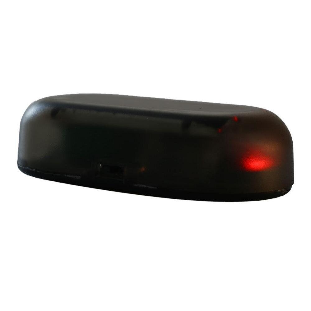 ¡Oferta! 1 Uds. De luz Led roja para coche, sistema de seguridad, antirrobo, parpadeo, alarma Solar para coche, luz LED