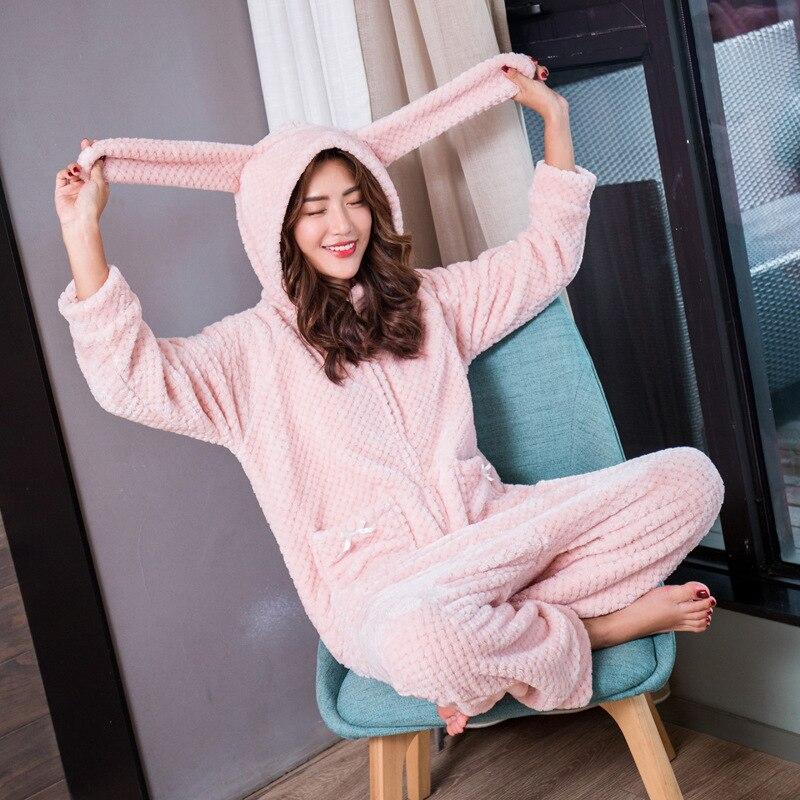 Yomrzl A572 nueva llegada de primavera y otoño mujeres onesies lovely one piece ropa de dormir de manga larga Linda Rosa ropa de casa