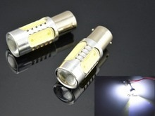 2 stücke 1156 LED 7,5 Watt Auto nebelschluss Licht Driving DRL Kopf Birnen Lamp12V 24 V Helle Licht birne