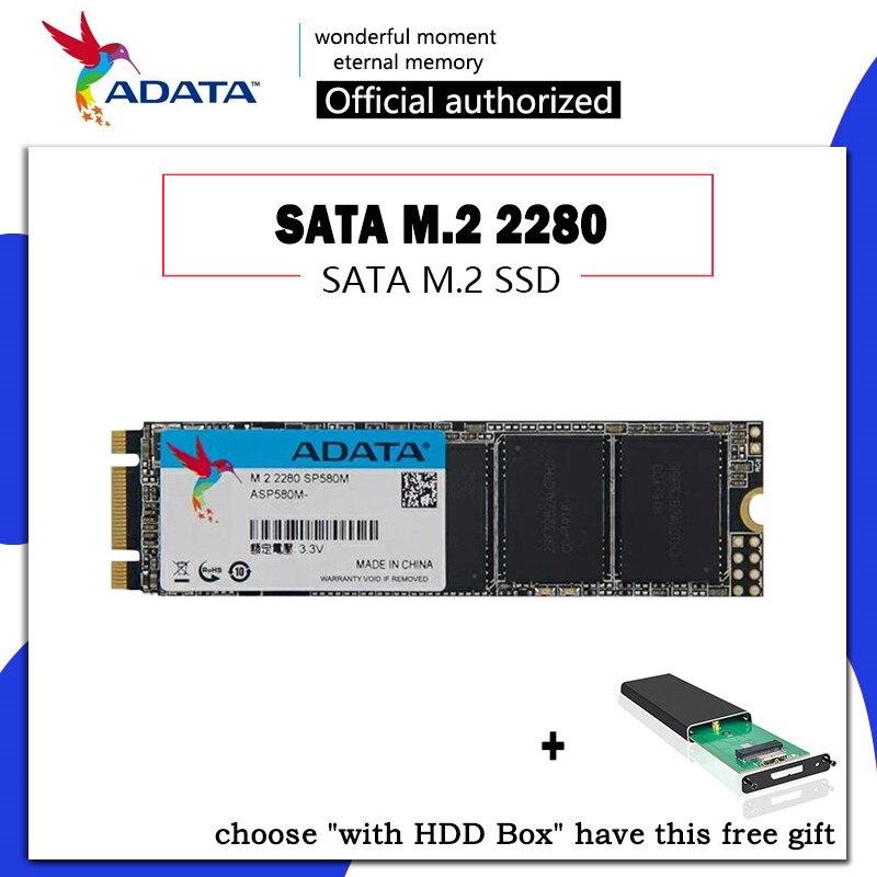 ADATA SP580 SATA M.2 SSD M2 SSD Hard Drive HD SSD 240 GB 120 GB Solid State Hard Disk HDD 2280 240GB 120GB for Laptop Computer
