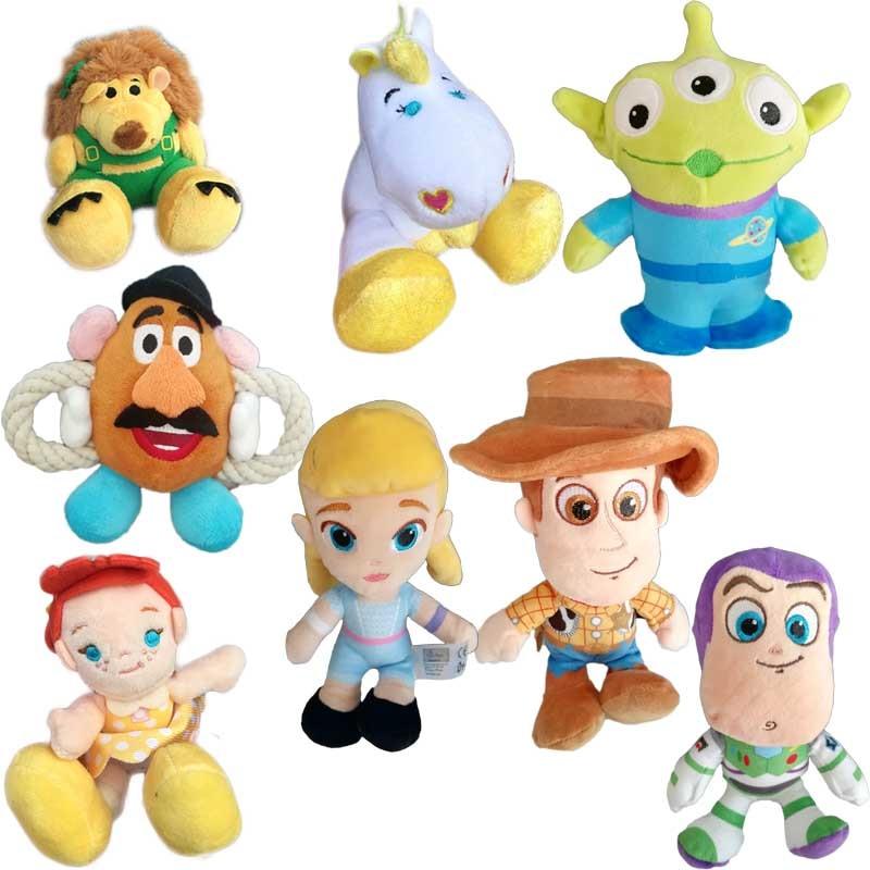 Muñecas de peluche originales Toy Story Woody Buzz Lightyear Gaby BUTTERCUP MR. PRICKLE, juguete de peluche, regalo de cumpleaños, Navidad, Año Nuevo