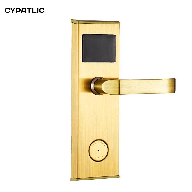 قفل باب IC/ID ذكي ، قفل كهرومغناطيسي للفنادق والشقق والمكتب