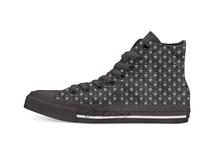 LEMMY حذاء قماش علوي مرتفع غير رسمي أحذية رياضية للشحن الفوري