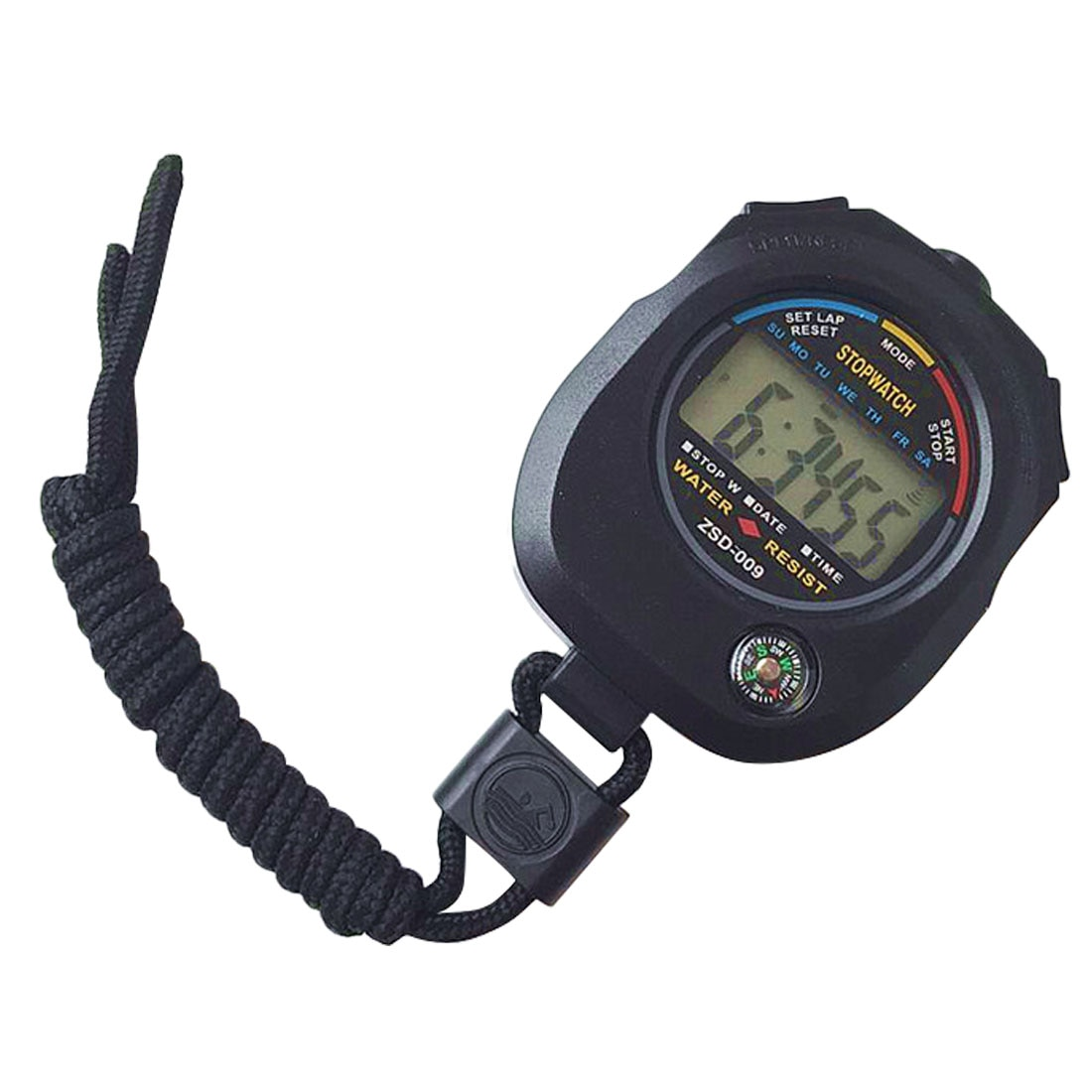Cronómetro Digital deportivo LCD, cronómetro, cronómetro deportivo de mano con correa profesional