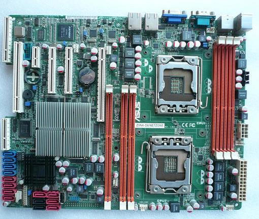 اللوحة الأم الأصلية Z8NA-D6 LGA 1366 DDR3 المزدوج 1366 لوحة خادم سطح المكتب