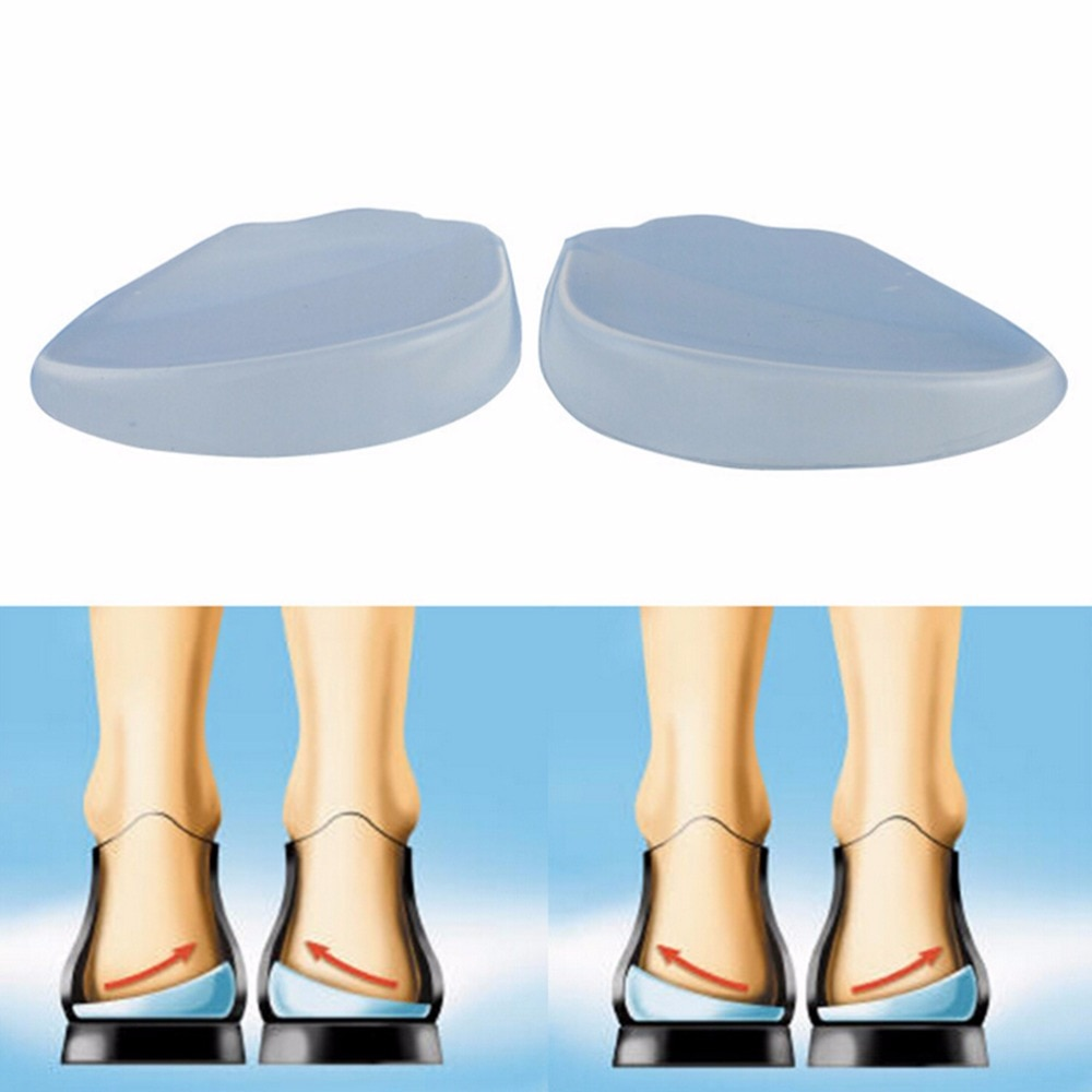 AliExpress - 2Pcs Silicone Insoles Orthotics X/O-type Legs Corrector Gel Pillow For Heel Orthopedic Insoles Shoes Pad  For Feet Care