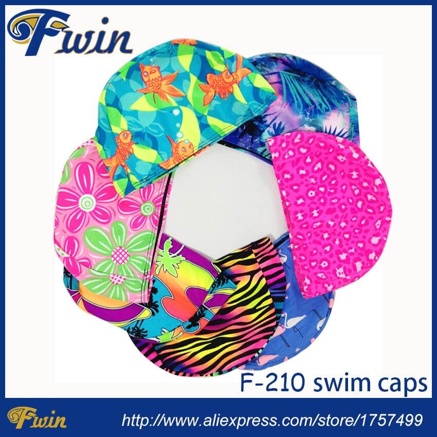 10 Uds hombres mujeres poliéster Flexible estampado agua deporte piscina natación gorras de baño sombrero varios colores Nylon natación gorras