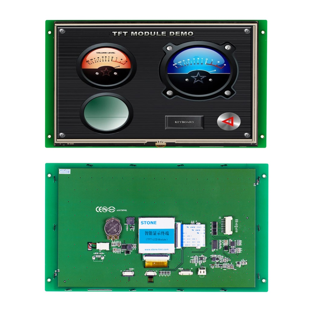 10.1 Inch Intelligent And Colorful TFT LCD Monitor With Powerful Functions