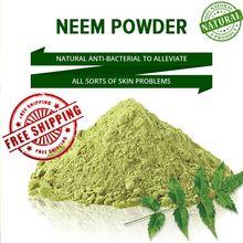 Livraison gratuite Neem poudre 100% nettoyant pour la peau organique et chimique gratuit 60G