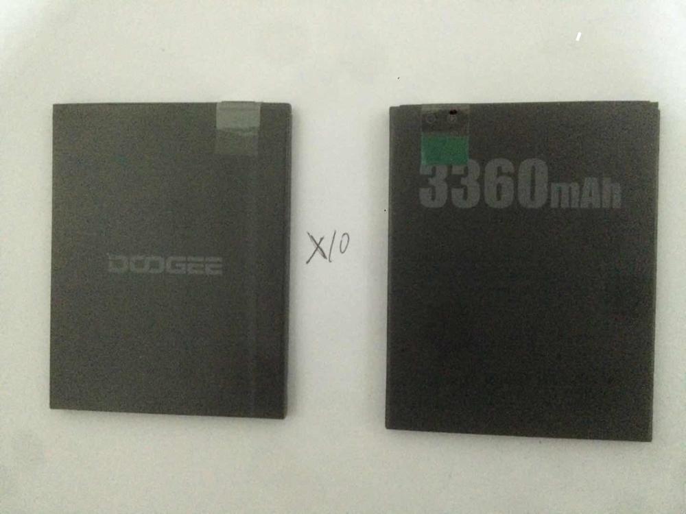 Аккумулятор DOOGEE X10 3360 мАч, 100% оригинальный новый запасной аксессуар, аккумуляторы для смартфонов DOOGEE X10