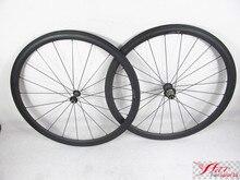 Farsports FSC38-CM-23 Novatec 38mm roues de jante en carbone, Novatec 291 482 roues de vélo de moyeu 38 23 de chine