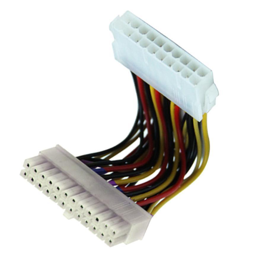 Cable adaptador de corriente ATX para ordenador portátil de 20 pines macho a 24 pines nuevo Jun22 precio de fábrica profesional triangulación de envío