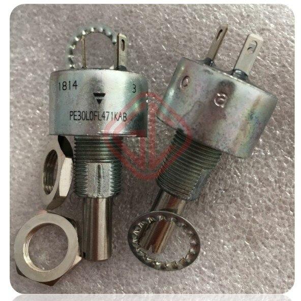 [VK] مقياس جهد خطي أصلي, Vishay 470R +- 10% PE30 PE30L0FL471KAB switch