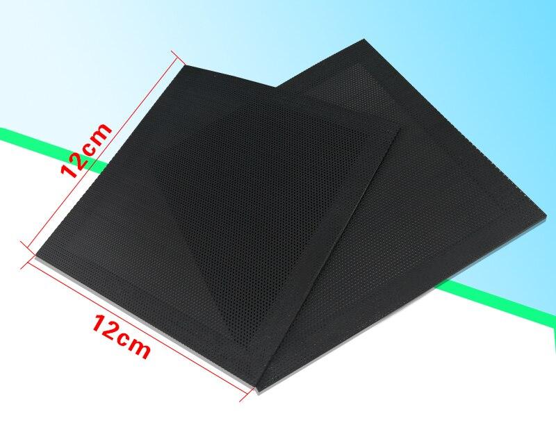 Magnetismo PVC 12cm 14cm caja de la computadora delgada filtro de aire personalizado fuerza magnética ventilador filtro hierro chasis Kits de limpieza de ordenador