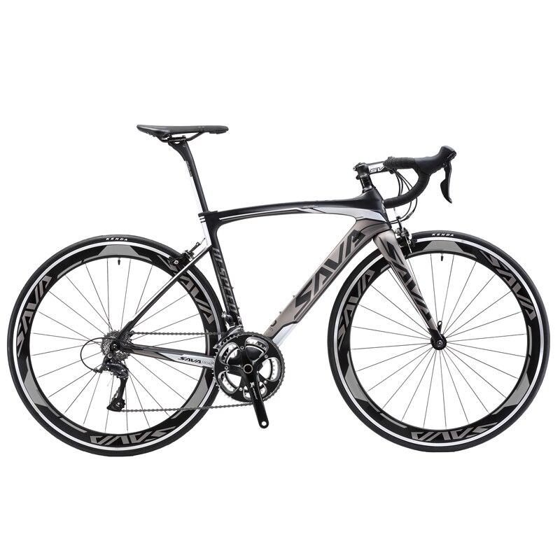 SAVA bicicleta de carretera de carbono 700C bicicleta de carretera bicicleta de...