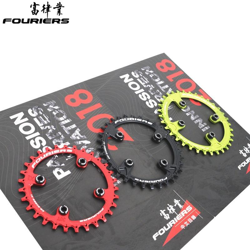 Fouriers Fahrrad Kette ring Aluminium legierung kette rad Kreis BCD76 Engen Breite NW Zahn 1 x System Für XX1 system fahrrad teile
