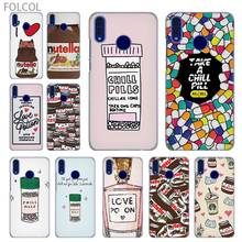 Funny Chills Pills Chocolate Nutella case cover for HUAWEI Honor 7 8 8X 9 Lite 10 4C 5X 6 6X 6C 7a Pro 7X 10i 8a 10 lite