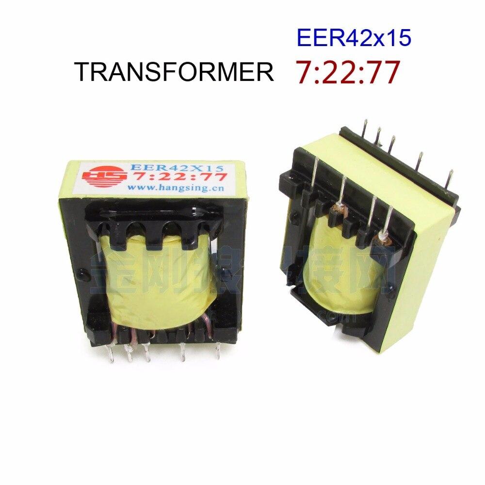 パルストランスEER42x15 7: 22: 77新しい用インバータtig溶接ミドルボード