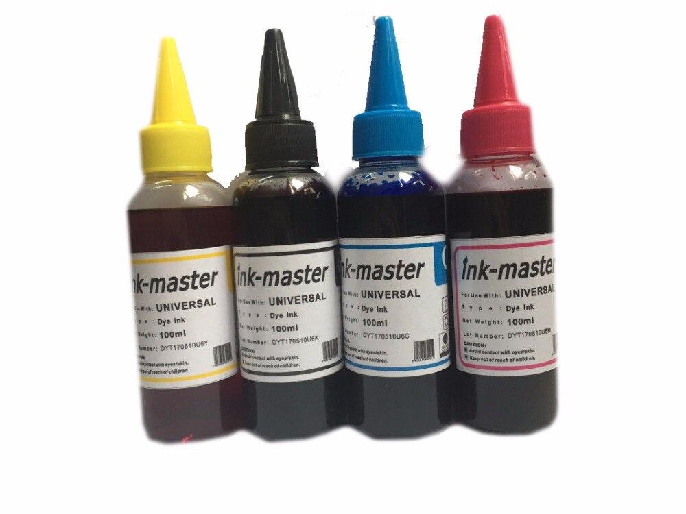 Einkshop 400ML 92N T0921 tinte de tinta para EPSON Stylus CX4300 TX117 T26 T27 TX106 TX119 TX109 C91 TX110/TX117/TX11 tinta Dye impresión