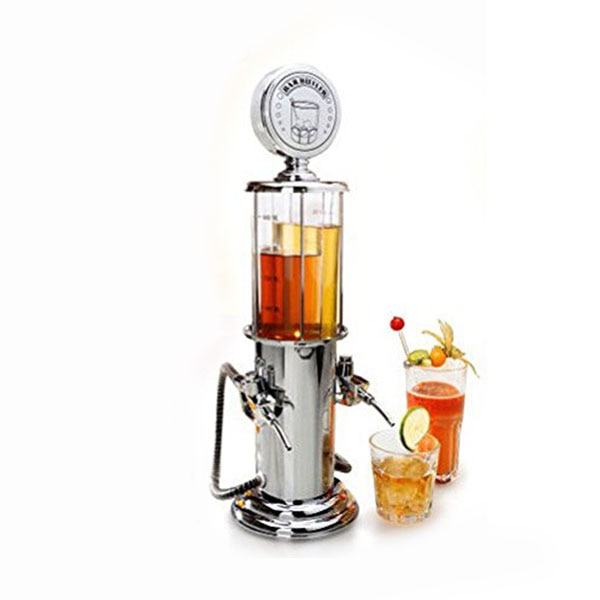 Машина для напитков с двумя пистолетами, ilver помпа для напитков, спирта, жидкой воды, сока, вино газированные напитки, диспенсер для напитков