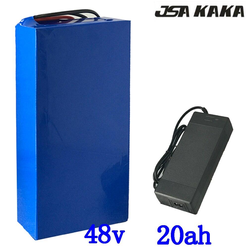 48 V 20AH batterie 48 Volt Lithium-Batterie 48 V 500W 750W 1000W 2000W ebike batterie 48 V 10Ah 13Ah 15Ah 18Ah Elektrische fahrrad batterie